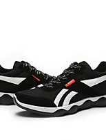 Men's Shoes Casual Tulle Fashion Sneakers Black / Green / Red