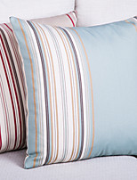 Polyester Pillow Cover , Striped Modern/Contemporary