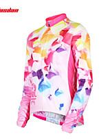 Tops / Jerseyes(Rosa) - deCiclismo-Transpirable / Resistente a los UV / Secado rápido / Reductor del Sudor- deMangas largas Mujer