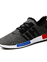 Men's Shoes Outdoor / Athletic / Casual Tulle Fashion Sneakers Black / White