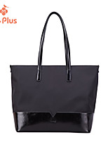 M.Plus® Women's Fashion Solid Nylon/Genuine Leather Shoulder Bag/Tote