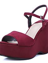 Women's Shoes  Wedge Heel Wedges / Heels / Peep Toe / Platform / Slingback Sandals  / Dress / Casual