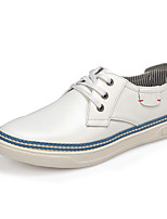 Serene Men's Shoes Outdoor / Casual Leather Fashion Sneakers / Athletic Shoes / Espadrilles White