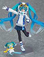 Vocaloid Hatsune Miku PVC One Size Anime Action Figures Model Toys 1pc 14cm