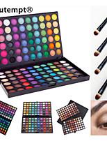 120 Palette de Fard à Paupières Sec / Mat / Lueur Fard à paupières palette Poudre GrandMaquillage Quotidien / Maquillage d'Halloween /