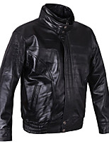 Mens Lambskin Leather Jacket,Top , Lined,Genuine Leather Jacket