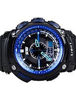 orologio sportivo Da uomo / Da donna / Unisex LCD / Calendario / Cronografo / Resistente all'acqua / Due fusi orari / Orologio sportivo