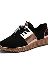 Zapatos de Hombre-Sneakers a la Moda-Exterior / Oficina y Trabajo / Casual / Deporte-Tejido-Plata / Oro