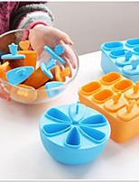 1Set Pop Mold Popsicle Maker Lolly Mould Tray Pan Kitchen Frozen Ice Cream DIY