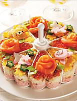 עובש כדור כדור עוגה בצורת אורז יצרנית סושי עובש אורז כלי מטבח DIY