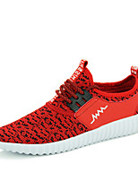 Men's Yeeze Shoes Casual/Travel/Athletic Fashion Tulle Leather Running Sneakers Shoes Red/Black/Gray 39-44