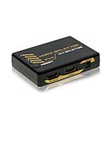 hdmi mini divisore 1x4 v1.4 supporta HDCP 4Kx2K CEC con FCC certificati Rosh