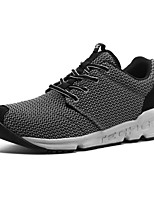 Men's Trail Running Shoes Leather / Canvas Blue / Gray