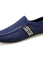 Черный / Синий / Красный Мужская обувь На каждый день Дерматин Лоферы