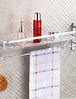 60cm Contemporary Space Aluminum Anodizing Wall Mounted Towel Warmer