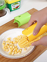 One-Step Corn Peeler Stripper Thresher Tool Kitchen Cutter Stripper Remover(Random Color)