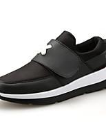 Zapatos Sneakers Cuero Negro / Blanco / Negro y Rojo Hombre