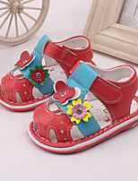 Baby Shoes Dress / Casual Leather Fashion Sneakers Pink / White / Coral