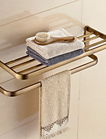Bathroom accessories,Antique Brass Material Material Bathroom Shelf