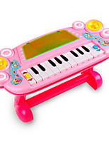 Electronic Organ Plastic White / Green / Pink / Orange  Music Toy For Kids