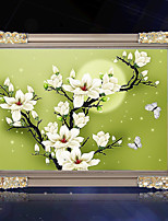DIY 5D Diamond Painting Cross Stitch Moonlight Magnolia Diamond Embroidery Living room Diamond Mosaic Home Decoration