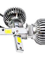 2pc 30w 2003-2007 ano do carro VW Jetta levou lâmpadas dos faróis h1 carro de alta feixe levou lâmpada do farol de carro de baixo h1 feixe