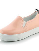 Women's Shoes Leatherette Platform Round Toe Loafers Casual Black / Pink / White