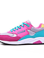 Women's Shoes Patent Leather / Leatherette Flat Heel Comfort Fashion Sneakers / Athletic Shoes Outdoor / Athletic