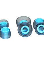 Materiales Consejos siilcone auricular para earhone (en el oído)