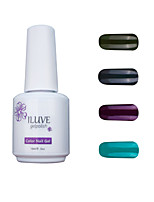 ILuve Gel Nail Polish Set - Pack Of 4 - Long Lasting 3 Weeks Soak Off UV Led Gel Varnish – For Nail Art #4001