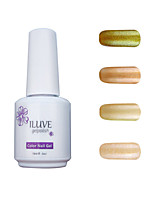 ILuve Gel Nail Polish Set - Pack Of 4 - Long Lasting 3 Weeks Soak Off UV Led Gel Varnish – For Nail Art #4048