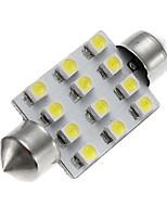 2pcs Camry corolla12v 4W 1210 12SMD Auto-LED-Seitenmarkierungsleuchte Autotürlampe Autoleselicht, Autokennzeichenleuchte