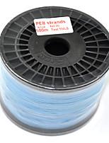 500M / 550 Yards Lenza intrecciata PE / Dyneema Blu 120LB 0.7 mm PerPesca di mare / Pesca a mosca / Pesca a mulinello / Spinning / Pesca