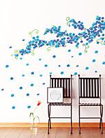Botanique / Bande dessinée / Romance / Mode / Floral / Vacances / Paysage / Forme / Fantaisie Stickers muraux Stickers avion,PVC145cm x