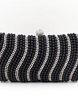 L.WEST® Women's Handmade High-grade Pearl Diamonds Party/Evening Bag