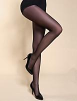 Brand BONAS Female Thin Long Stockings 15D Pantyhose Crotch Spring Summer Seamless Transparent