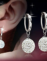 Shambhala Diamond Alloy / Rhinestone Drop Earrings Wedding / Party / Daily / Casual 1 pair