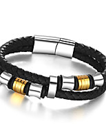 2016 Trendy Stainless Steel Men Bracelet Wrap Wristband For Men Classic Bracelet Men Bangle Jewelry