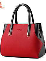 M.Plus® Women's Fashion Solid PU Leather Shoulder Messenger Bag/Tote