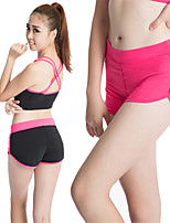 Female Fitness Yoga Shorts Wardrobe Malfunction Prevention Lined With Hot Pants Sports Sweat Running Quick-drying Pants