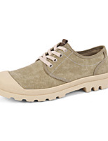 Serene Men's Shoes Outdoor / Casual Canvas Fashion Sneakers / Athletic Shoes / Espadrilles Gray / Beige