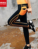 Women's Running Bottoms Yoga / Pilates / Fitness / Cycling/Bike / Running Breathable / Quick Dry / Soft Black