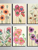 Botanical Print Canvas Un pannello Pronto da appendere,Verticale