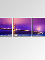 VISUAL STAR®Modern Golden Gate Bridge Canvas Prints Home Decoration Cityscape Wall Art Ready to Hang