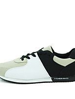 Men's Shoes Outdoor / Athletic Fabric Athletic Shoes Black / Blue / Red