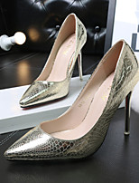 Women's Shoes Wedding/Office & Career/Dress/Party & Evening Fashion Snake Print Stiletto Heel Shoes