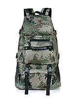 Backpack Camping & Hiking Waterproof / Rain-Proof / Multifunctional 50 L Camouflage Terylene / 600D Ripstop other