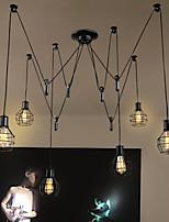 Max 60W Rustico Designers Altro Metallo Luci Pendenti Salotto / Camera da letto / Sala da pranzo / Cucina / Sala studio/Ufficio