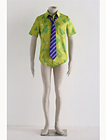 Inspired by Zootopia Nick Cosplay Costumes Shirt with Tie