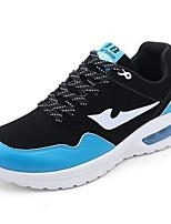 Scarpe da uomo-Sneakers alla moda-Casual-Finta pelle-Blu / Verde / Bianco